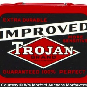Improved Trojan Condom Tin