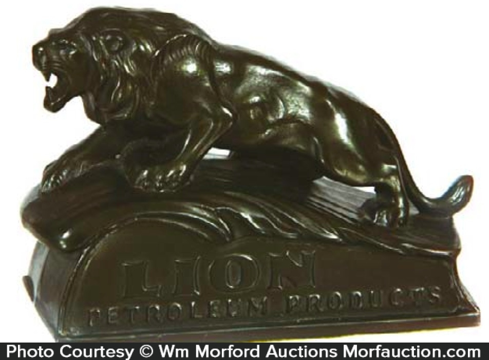 Lion Petroleum Paperweight