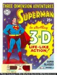 Superman 3-D Comic Book