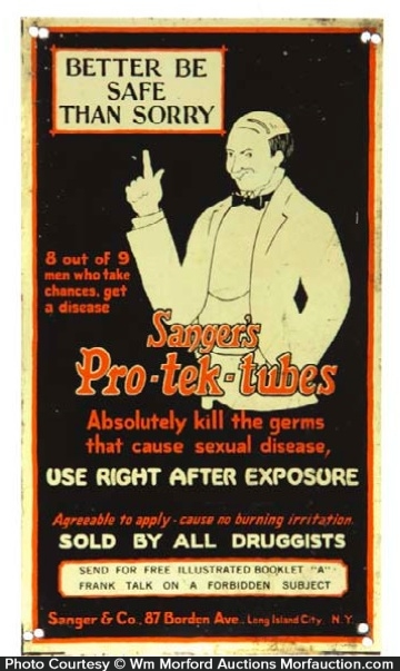 Pro-Tek-Tubes Sign