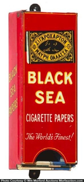 Black Sea Cigarette Papers Display