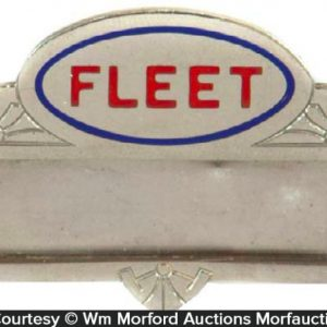 Fleet Oil Badge