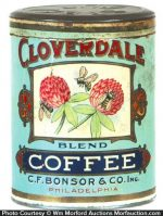 Cloverdale Coffee Can
