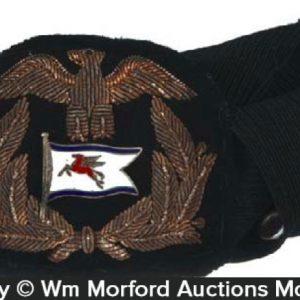 Mobil Maritime Hat Badge