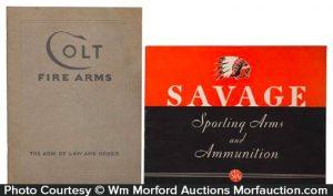Vintage Fire Arms Catalogs