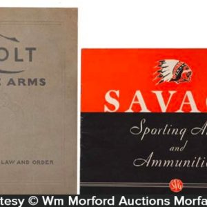 Vintage Fire Arms Catalogs