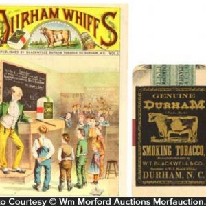 Bull Durham Tobacco Catalog