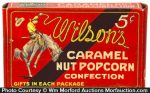 Wilson's Caramel Popcorn Box