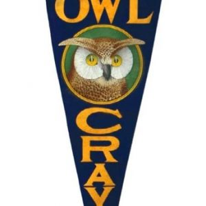 Owl Cravats Pennant