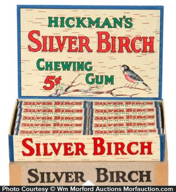 Hickman's Silver Birch Gum Box
