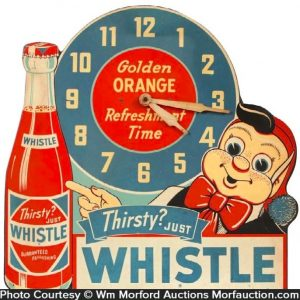 Whistle Soda Clock