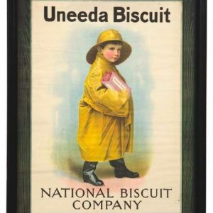 Nabisco Uneeda Biscuit Sign