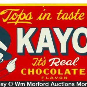 Kayo Chocolate Drink Sign