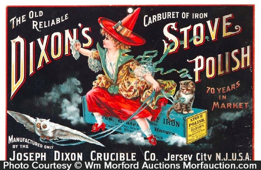 Dixon's Stove Polish Sign