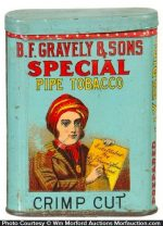 Gravely's Special Tobacco Tin