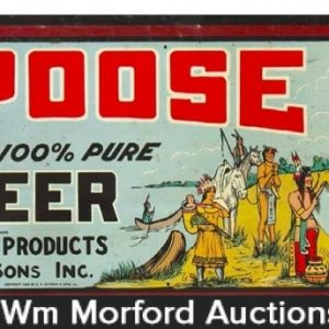 Pa-Poose Root Beer Sign