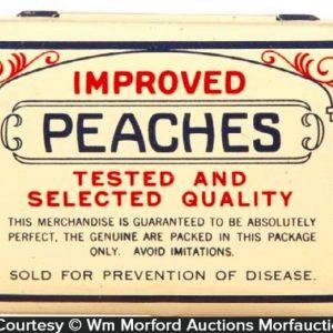Improved Peaches Condom Tin