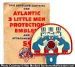 Atlantic 3 Little Men Plate Topper