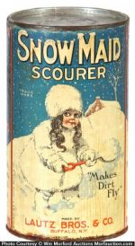 Snow Maid Scourer Tin