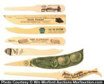 Celluloid Letter Openers