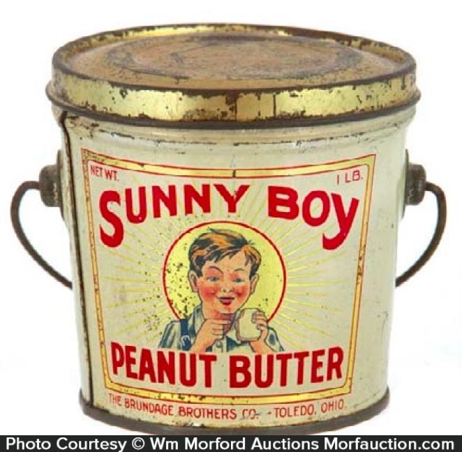 Sunny Boy Peanut Butter Pail