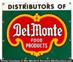 Del-Monte Porcelain Sign