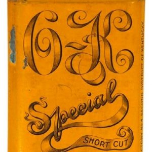 O.K. Special Tobacco Tin