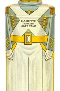 Cadette Talcum Powder Tin