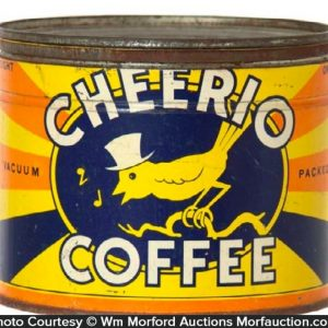 Cheerio Coffee Can