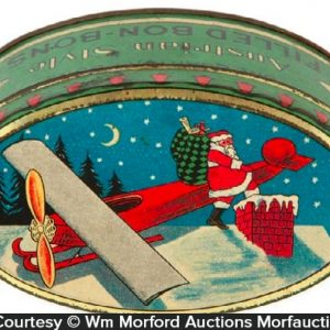 Woolworth's Santa Candy Tin