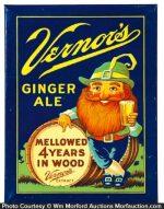 Vernor's Ginger Ale Sign