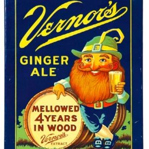 Vernor's Ginger Ale Sign