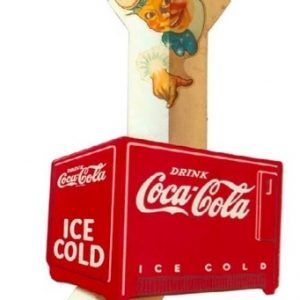 Coca-Cola Sprite Boy Arrow Sign