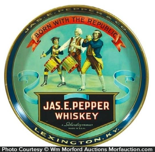 Pepper Whiskey Tray