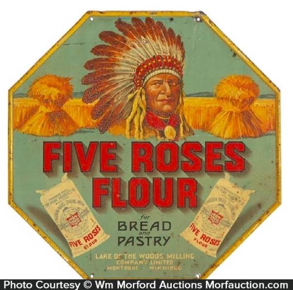 Five Roses Flour Sign