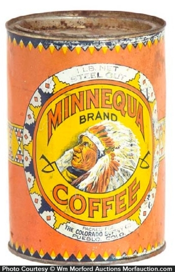 Minnequa Coffee Can