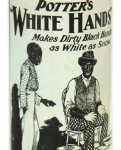 White Hands Soap Tin