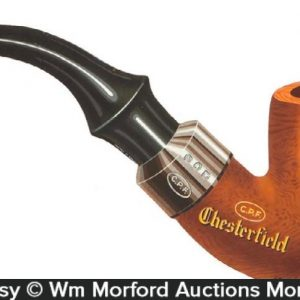 Chesterfield Pipes Die-Cut Sign