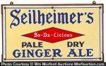 Seilheimer's Ginger Ale Sign