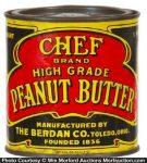 Chef Peanut Butter Tin