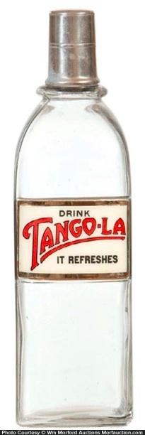 Tango-La Syrup Bottle