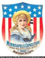 Minneapolis Exposition Sign