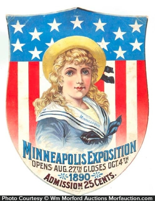 Minneapolis Exposition Sign