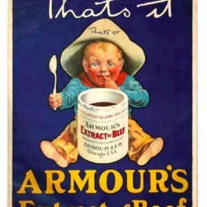 Armour's Extract Of Beef Poster