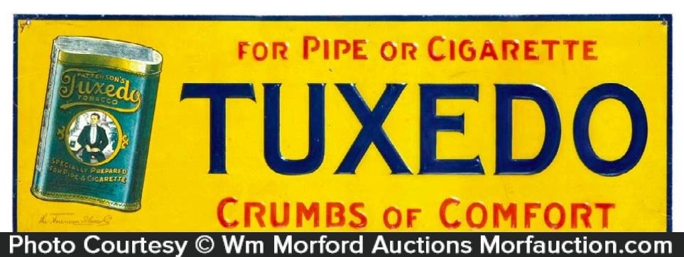 Tuxedo Tobacco Sign