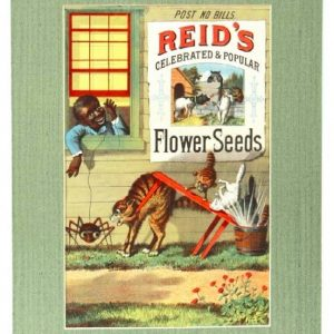 Reid's Flower Seeds Sign
