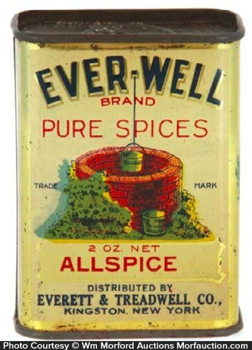 Ever-Well Spice Tin