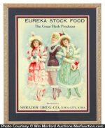 Eureka Stock Food Sign