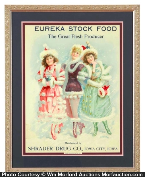 Eureka Stock Food Sign