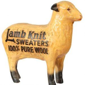 Lamb Knit Sweaters Display